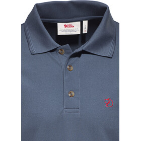 Fjällräven Crowley Piqué Shirt Herren uncle blue